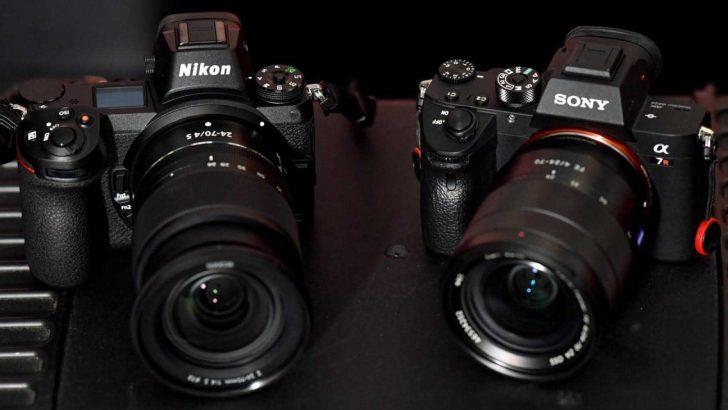 Professionals camera