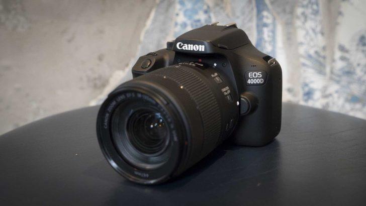 canon dslr cameras